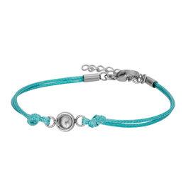 iXXXi Jewelry iXXXi Jewelry Top Part Bracelet Wax Cord Green