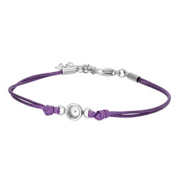 iXXXi Jewelry iXXXi Jewelry Top Part Anklet Wax Cord Purple