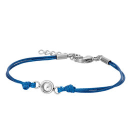 iXXXi Jewelry iXXXi Jewelry Top Part Anklet Wax Cord Blue