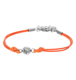iXXXi Jewelry iXXXi Jewelry Top Part Anklet Wax Cord Orange