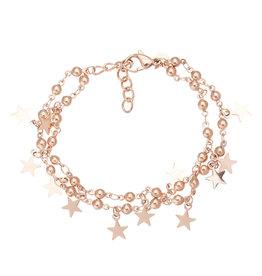 iXXXi Jewelry iXXXi Jewelry Anklet Dazzling Stars Rosé