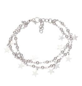 iXXXi Jewelry iXXXi Jewelry Anklet Dazzling Stars Zilverkleurig