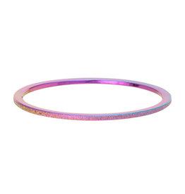 iXXXi Jewelry iXXXi Jewelry Vulring Sandblasted Rainbow 1mm
