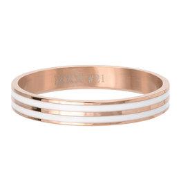 iXXXi Jewelry iXXXi Jewelry Vulring Double Line White Rosé 4mm
