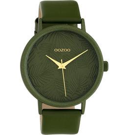 Oozoo Timepieces Oozoo Special Summer Dark Green C10173