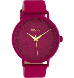 Oozoo Timepieces Oozoo Special Summer Fuchsia C10167