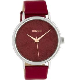 Oozoo Timepieces Oozoo Special Summer Dark Red C10164