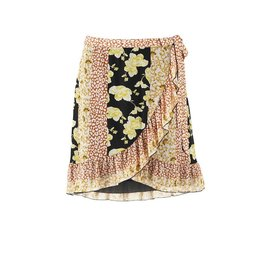 Saint Tropez Saint Tropez T8596 Skirt On Knee Black