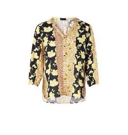 Saint Tropez Saint Tropez T1128 Woven Shirt Black