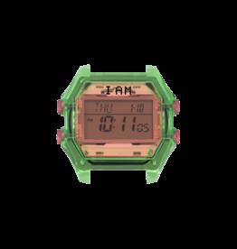 IAM The Watch IAM-007 TR Green Case Pink Glass 40mm