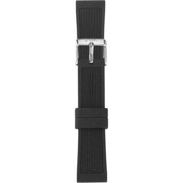 IAM The Watch IAM-206 Black Silicon Strap 18mm