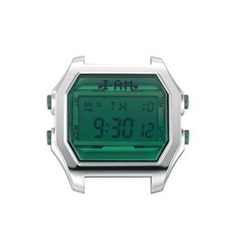IAM The Watch IAM-104 SS Case Emerald Glass 44mm