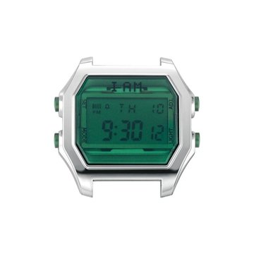 IAM The Watch IAM-104 SS Case Emerald Glass 44mm