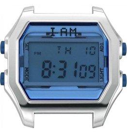 IAM The Watch IAM-105 SS Case Deep Blue Glass 44mm