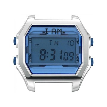 IAM The Watch IAM-105 SS Case Deep Blue Glass 44mm