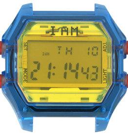 IAM The Watch IAM-106 TR Blue Case Yellow Glass 44mm