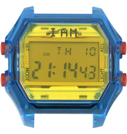 IAM The Watch IAM-106 TR Blue Case Yellow Glass 44mm
