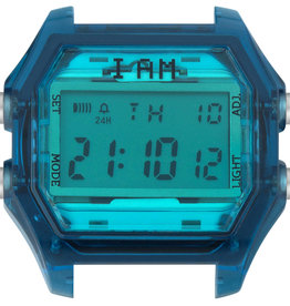 IAM The Watch IAM-107 TR Deep Blue Case Tiffany Glass 44mm