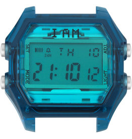 IAM The Watch IAM-107 TR Deep Blue Case Tiffany Glass 44mm