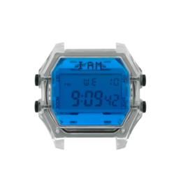 IAM The Watch IAM-108 Transparant Case Blue Glass 44mm
