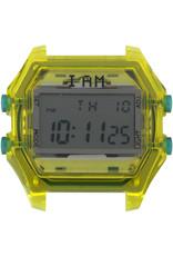 IAM The Watch IAM-109 TR Yellow Case Grey Glass 44mm