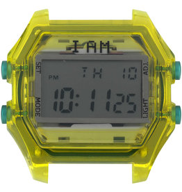 IAM The Watch IAM-109 TR Yellow Case Grey Glass 44mm