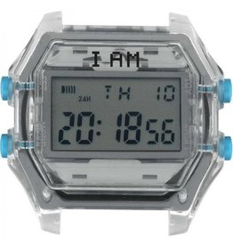 IAM The Watch IAM-110 Transparent Case Grey Glass 44mm