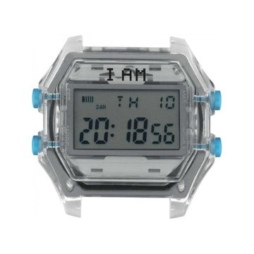 IAM The Watch IAM-110 Transparent Case Grey Glass 44mm