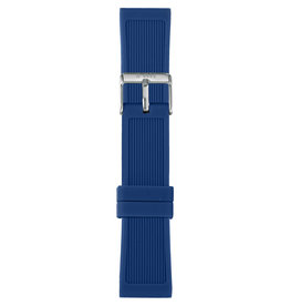 IAM The Watch IAM-302 Dark Blue Silicon Strap 20mm
