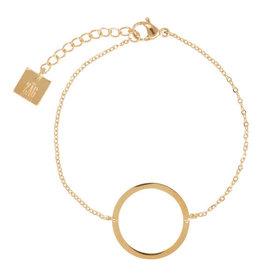 Zag Bijoux Zag Bijoux Bracelet Circle of Life Goudkleurig