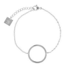 Zag Bijoux Zag Bijoux Bracelet Circle of Life Zilverkleurig