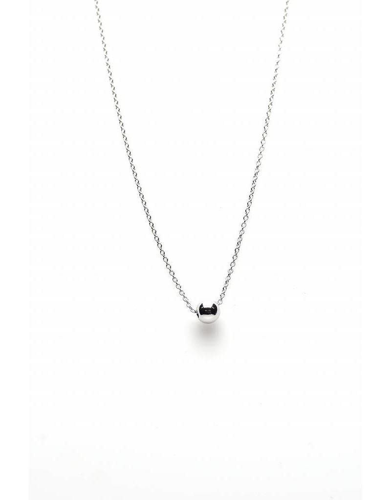 Karma Karma Ball Necklace Zilver