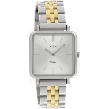 Oozoo Timepieces Oozoo Horloge Goud-Zilverkleurig C9952
