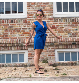 Sisters Point Sisters Point Gram Playsuit Royal Blue