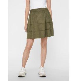 Noisy May Noisy May NM Lauren Skirt Color Olivine