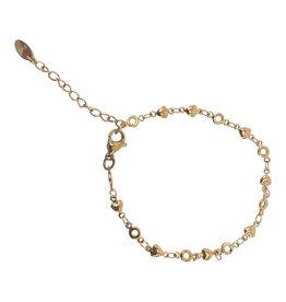 Kalli Kalli Bracelet 2548 Goudkleurig