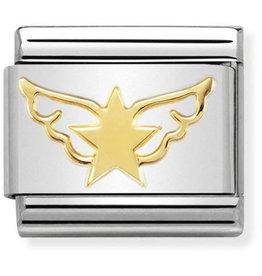 Nomination Nomination Link 030162/45 Star Angel 18k Goud