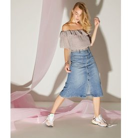 Sisters Point Sisters Point Fea Skirt Denim