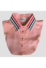 Pinned by K Pinned By K Collar Pink Stripe