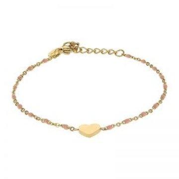 Kalli Kalli Bracelet 2587 Heart Pink Beads