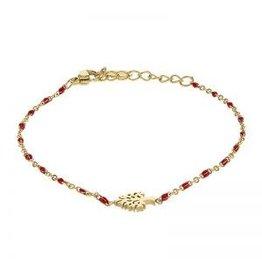 Kalli Kalli Bracelet 2588 Tree Of Life Red Beads