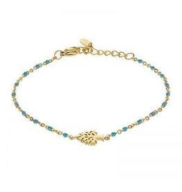 Kalli Kalli Bracelet 2588 Tree Of Life Turquoise Beads