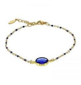 Kalli Kalli Bracelet 2589 Stone Blue Beads