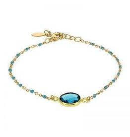 Kalli Kalli Bracelet 2589 Stone Green Beads