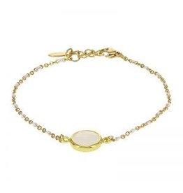 Kalli Kalli Bracelet 2589 Stone White Beads