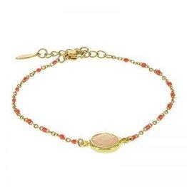 Kalli Kalli Bracelet 2589 Stone Coral Beads