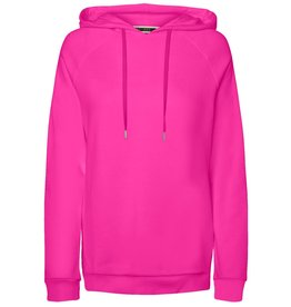 Noisy May Noisy May NM Neon Hoodie Knockout Pink