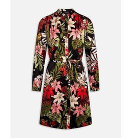 Sisters Point Sisters Point Valsi Dress Black Flower