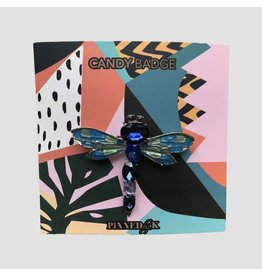 Pinned by K Pinned by K Broche Limited Blue Dragonfly