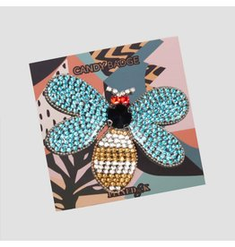 Pinned by K Pinned by K Broche Limited Stone Butterfly